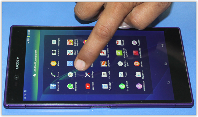 Enable USB debugging mode of Sony Xperia Z Ultra C6802 - Pro